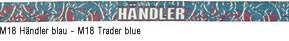 M18 Händler blau