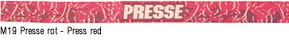 M19 Presse rot