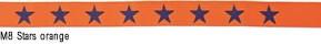 M8 Stars orange